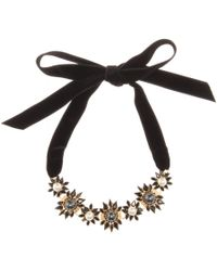 Erdem Crystal-embellished Necklace - Lyst