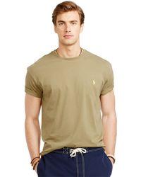 Polo Ralph Lauren Basic Custom-Fit T-Shirt - Lyst