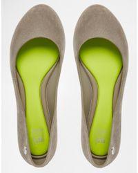 Mel by Melissa - Pop Flock Flat Shoes - Lyst