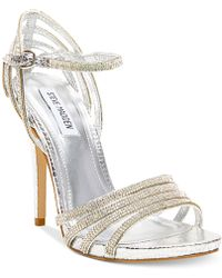 Steve Madden Cagged Dress Sandals - Lyst
