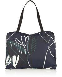 Marni Packable Printed Shell Shoulder Bag - Lyst