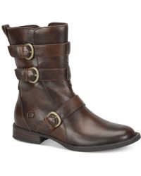 Born - Cincy Mid-shaft Boots - Lyst