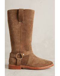 Joie Brown Babson Boots - Lyst