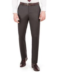Red Herring - Charcoal Twill Slim Fit Suit Trouser - Lyst