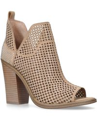 Vince Camuto - Tan 'kiminni' High Heel Ankle Boots - Lyst