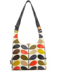 Orla Kiely - Multi-coloured Stem Print Shoulder Bag - Lyst