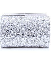 Nine West - Silver 'emora Clutch Sm' Clutch Bag - Lyst