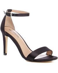 9b971080fbe Call It Spring - Black  ahlberg  High Stiletto Heel Ankle Strap Sandals -  Lyst
