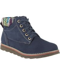 Lotus - Navy 'sequoia' Ankle Boots - Lyst