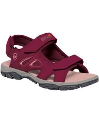 Regatta - Red Lady Holcombe Vent Sandals - Lyst