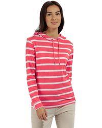 Regatta - Pink 'modesta' Striped Jersey Top - Lyst
