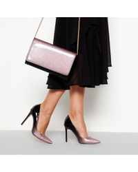 Faith - Pink Glitter Ombre 'chloe' High Stiletto Heel Pointed Shoes - Lyst