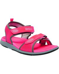 Regatta - Orange 'lady Terrarock' Sandals - Lyst