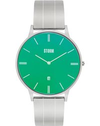 Storm - Men's Silver 'xoreno' Bracelet Watch - Lyst