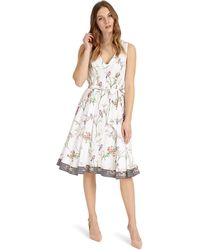 Phase Eight - Hummingbird Print Dress - Lyst