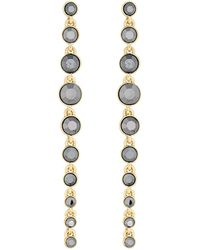 J By Jasper Conran - Faceted Crystal Droplet Earrings - Lyst