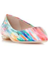 Dune - Multicoloured 'baer' Court Shoes - Lyst