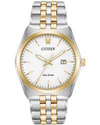 Citizen - Men's Multi-coloured 'eco-drive' Bracelet Watch Bm7334-58a - Lyst