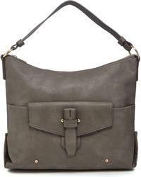 Kangol - Dark Grey Large Pocket Shoulder Bag - Lyst
