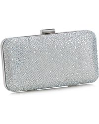 c1787f8a6 Lotus - Silver Diamante Clutch Bag - Lyst