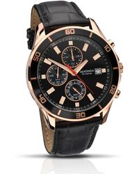Sekonda - Gents 'nightfall' Chronograph Strap Watch 1051.28 - Lyst