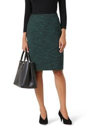 Hobbs - Dark Green 'felicia' Skirt - Lyst