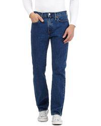 Levi's - Blue Mid Wash '514®' Slim Straight Jeans - Lyst
