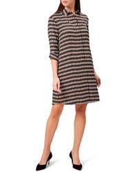 Hobbs - Multicoloured 'marci' Mini Tunic Dress - Lyst