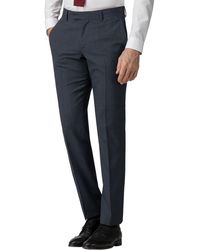 Ben Sherman - Airforce Waffle Weave Tailored Fit Trousers - Lyst