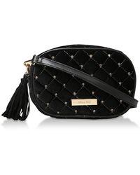 Miss Kg 'hackney' Studded Cross Body Bag - Black