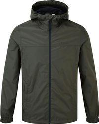 Tog 24 - Dark Khaki Craven Mens Waterproof Pack Away Jacket - Lyst