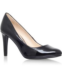 Nine West - Black 'handjive3' High Heel Court Shoe - Lyst