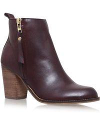 6b5676dd94fd Dolce Vita Jax Ankle Boots in Black - Lyst