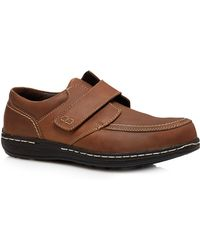 Hush Puppies - Brown Leather 'vince Victory' Shoes - Lyst