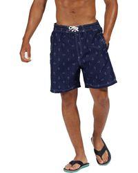 Regatta - Blue 'hadden' Board Shorts - Lyst