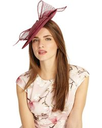 33e0505d Phase Eight - Pink Allegra Bow Back Disc Fascinator - Lyst