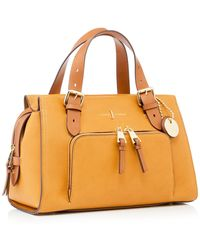 d106121b50a8 J By Jasper Conran - Dark Yellow Faux Leather  holland Park  Grab Bag -