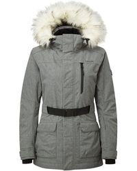 Tog 24 - Grey Marl Magna Waterproof Quilted Jacket - Lyst