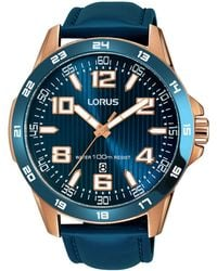Lorus - Men's Blue Sports Strap Watch Rh908gx9 - Lyst