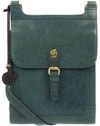 f98282992ba9 Conkca London - Denima  sasha  Handmade Leather Cross-body Bag - Lyst