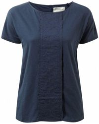 Craghoppers - Soft Navy Connie Short Sleeved Top - Lyst