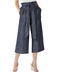 Coast - Navy 'marta' Wide Leg Culottes - Lyst