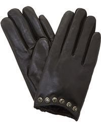 Dune - Black 'islaa' Gem Trim Glove - Lyst