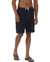 Regatta - Navy Hotham Board Shorts - Lyst