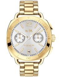 COACH - Ladies Gold 'tatum' Watch - Lyst
