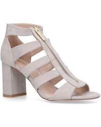 5f16bb698c74 Miss Kg Fate Block Heel Sandals in Black - Lyst