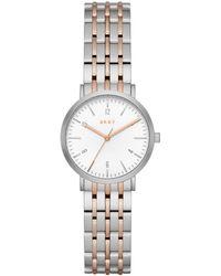 DKNY - Ladies Rose Gold Minetta Watch Ny2512 - Lyst