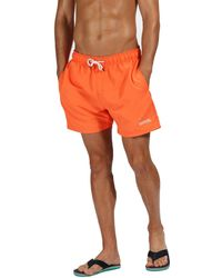 29332343f8 883 Police Stefford Swim Shorts White in White for Men - Lyst