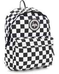 0592dcd5c3a4 Hype - Black Checkerboard Backpack - Lyst