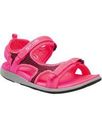 Regatta - Red 'lady Ad-flo' Sandals - Lyst